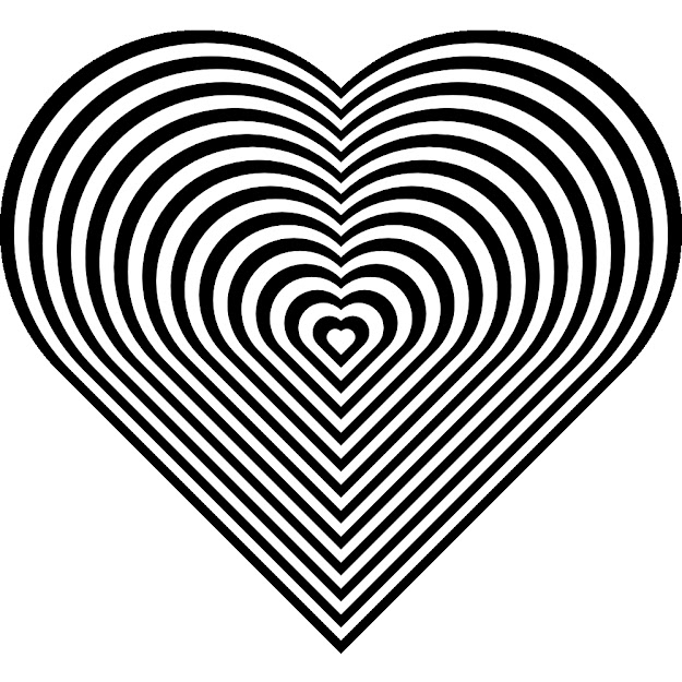 Adult Coloring Pages Hearts With Page Of Heart