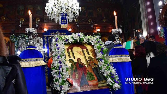 Πανηγυρίζει ο Ιερός Ναός της Υπαπαντής Λευκακίων (βίντεο)