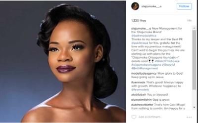 Olajumoke Orisaguna set to launch her own foundation