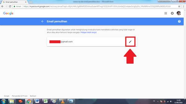 Gambar untuk Cara Mengganti Email Pemulihan Akun Google / Gmail