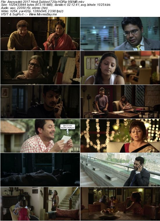 Aranyadeb 2017 Hindi Dubbed 720p HDRip 950MB
