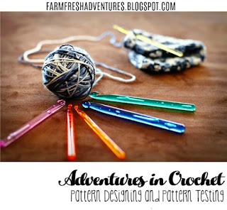 Adventures in Crochet~ Pattern Designing and Testing