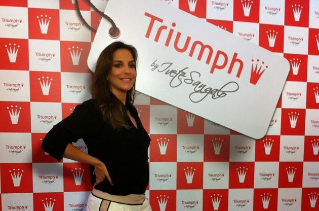 66dd94d2b Devido ao grande sucesso da parceria entre a cantora Ivete Sangalo e a  Triumph