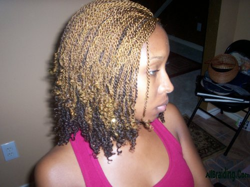 Hair Braiding Twisting Styles: Sincerely Coco: Spring/Summer Protective Hairstyle:Kinky