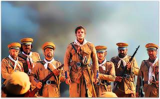 Júlio Bozano e Tropas, em 'Os Senhores da Guerra' (2012)