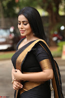 Poorna in Cute Backless Choli Saree Stunning Beauty at Avantika Movie platinum Disc Function ~  Exclusive 084.JPG
