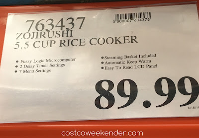 Deal for the Zojirushi Micom Rice Cooker NS-WRC10 at Costco