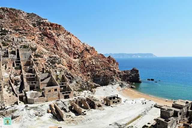 Paliorema, isla de Milos (Grecia)