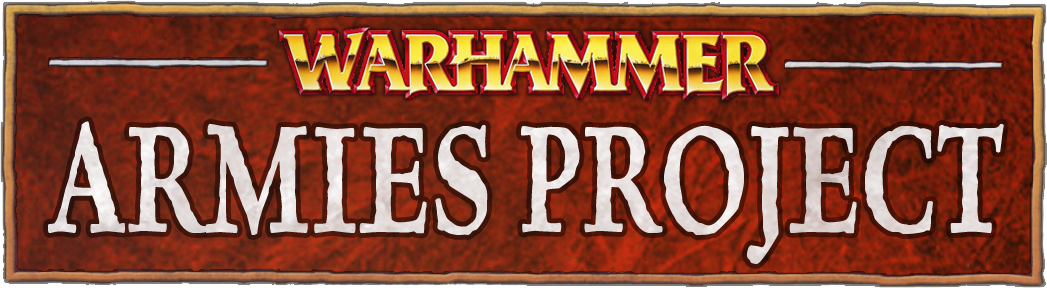 Warhammer Armies Project