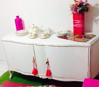Vintouch muebles reciclados pintados a mano for Mueble bajo mb9 05