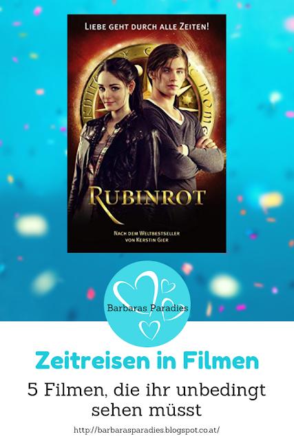 Zeitreisen in Filmen: 5 Filme, die ihr unbedingt sehen müsst - Rubinrot