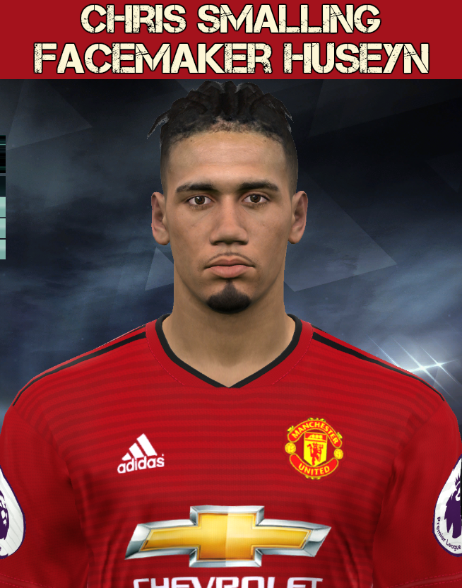 PES 2017 C. SMALLING face by Facemaker Huseyn