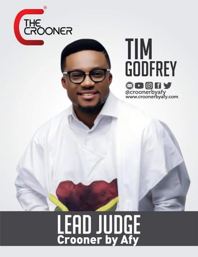 Tim Godfrey Appointed as Chief Judge of The Crooner. Other Big Artistes & Partners Lend Support [@croonerbyafy]