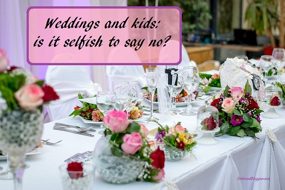 initing kids to weddings | etiquette