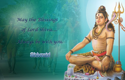 happy Maha Shivaratri blessings wallpaper