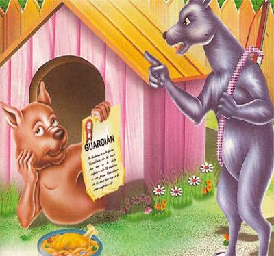Los dos Perros, Guardián y Cazador