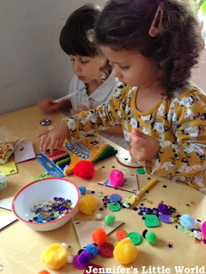 Rainbow crafting with the Magic Belles
