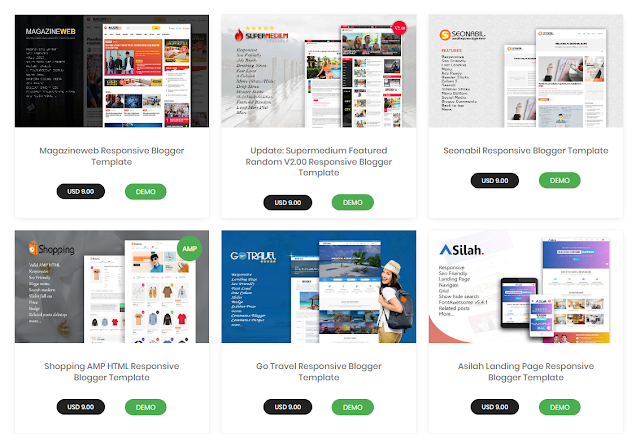 Website Jual Beli Template Blog goomsite.net