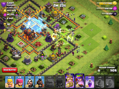 Clash of Clans Apk COC V9.24.1 Update Terbaru 2017