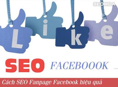 Phương pháp SEO Fanpage Facebook lên top hiệu quả