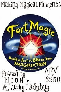 Enter to win a Fort Magic fort in the Making Magical Moments giveaway. Ends 12/11.