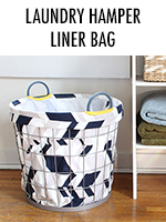 Laundry Hamper Liner Bag