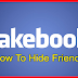 Facebook How to Hide Friends
