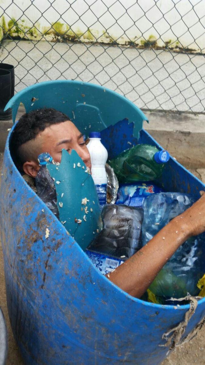 em-sobral-preso-tenta-fugir-escondido-em-tambor-de-lixo
