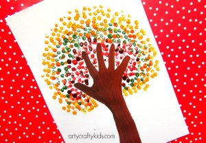 Handprint Art Activities for Preschoolers