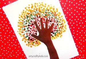 Handprint Art Activities for Preschoolers
