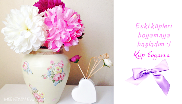Hobi işleri | Küp vazo boyama