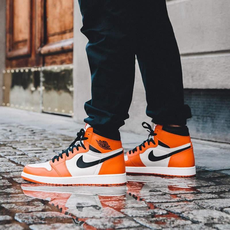 63109bc30cc4 AnpKick Brand Street Footwear  Air Jordan 1 Orange Retro High OG