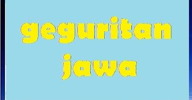 Contoh Geguritan Cinta Bahasa Jawa Contoh Bass