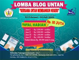Ikuti Lomba Blog SEO Universitas Tanjungpura Pontianak