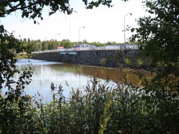 meri sea Kristinastad silta