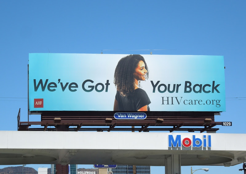 HIV Care billboard