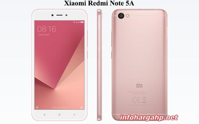 Harga Xiaomi Redmi Note 5A, Spesifikasi Xiaomi Redmi Note 5A, Review Xiaomi Redmi Note 5A