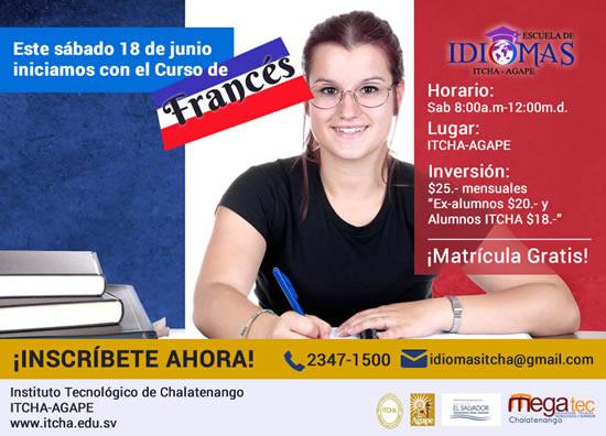 CURSO DE FRANCES ITCHA-AGAPE