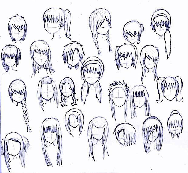 girl anime hairstyles latest