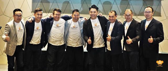 Galeeveurs Bhd F&B Incubator Team
