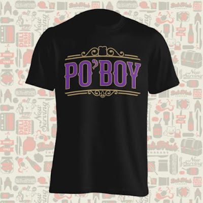 Po'Boy T-Shirt by Deli Fresh Threads x Kyle Van Cleave of Wild Giant Studio