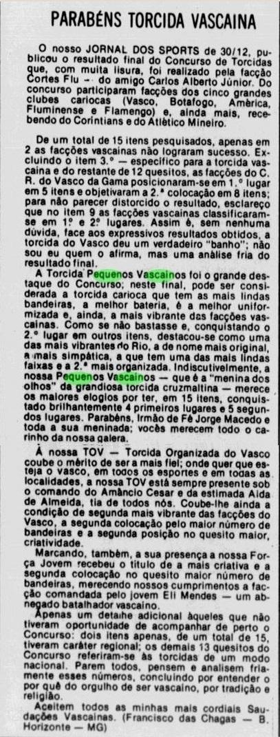 Torcidas do Vasco  Abril 2017 4f77c707aa96d