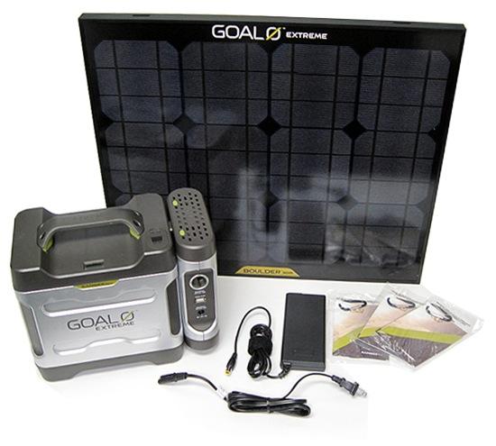 Solar Panel Cost Goal Zero Extreme 350 Adventure Kit