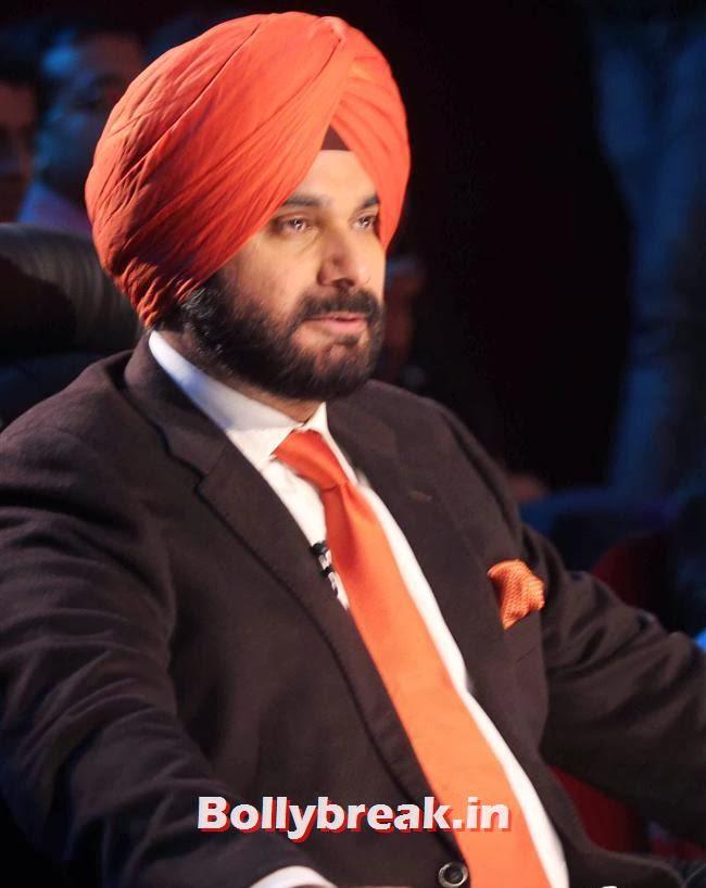 Navjot Singh Sidhu, Bipasha on comedy Nights to Promote Fitness DVD Unleash