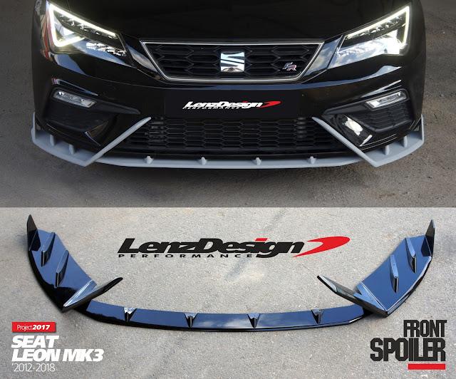 seat leon mk3 5f lenzdesign body kit spoilers 2012 2013. Black Bedroom Furniture Sets. Home Design Ideas