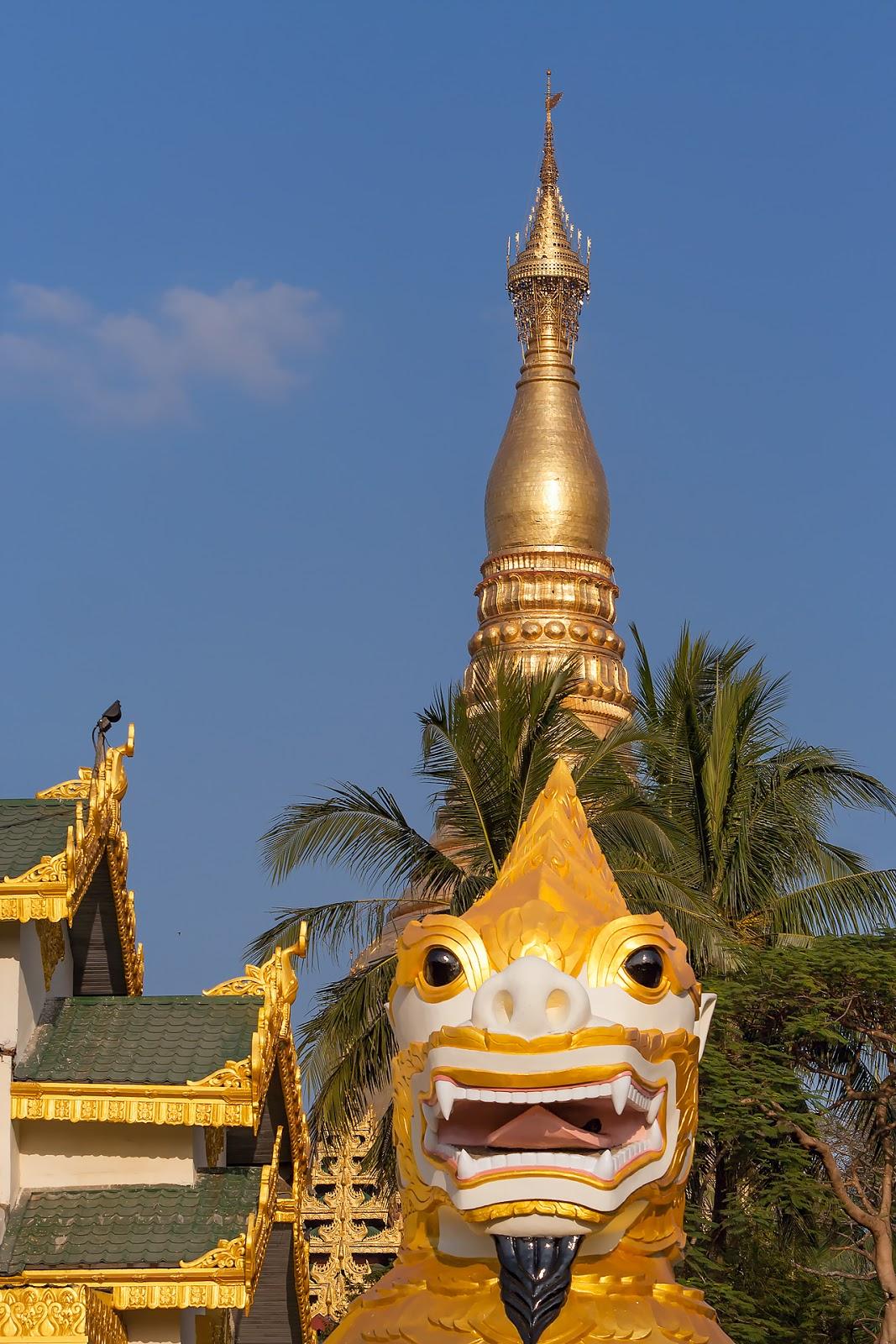 Naung Taw Gyi Pagoda ,wpływy tybetańskie,Birma,Myanmar