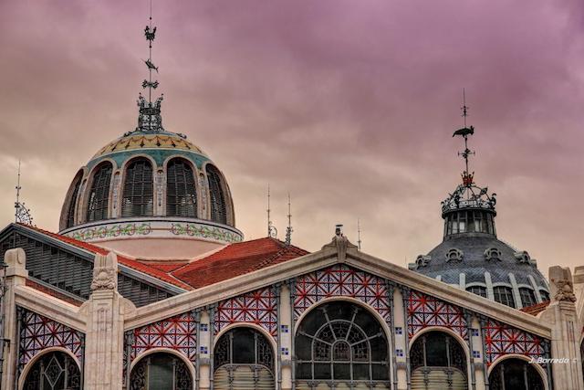 Arquitetura do Mercado Central de Valência