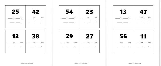 Place Value printable