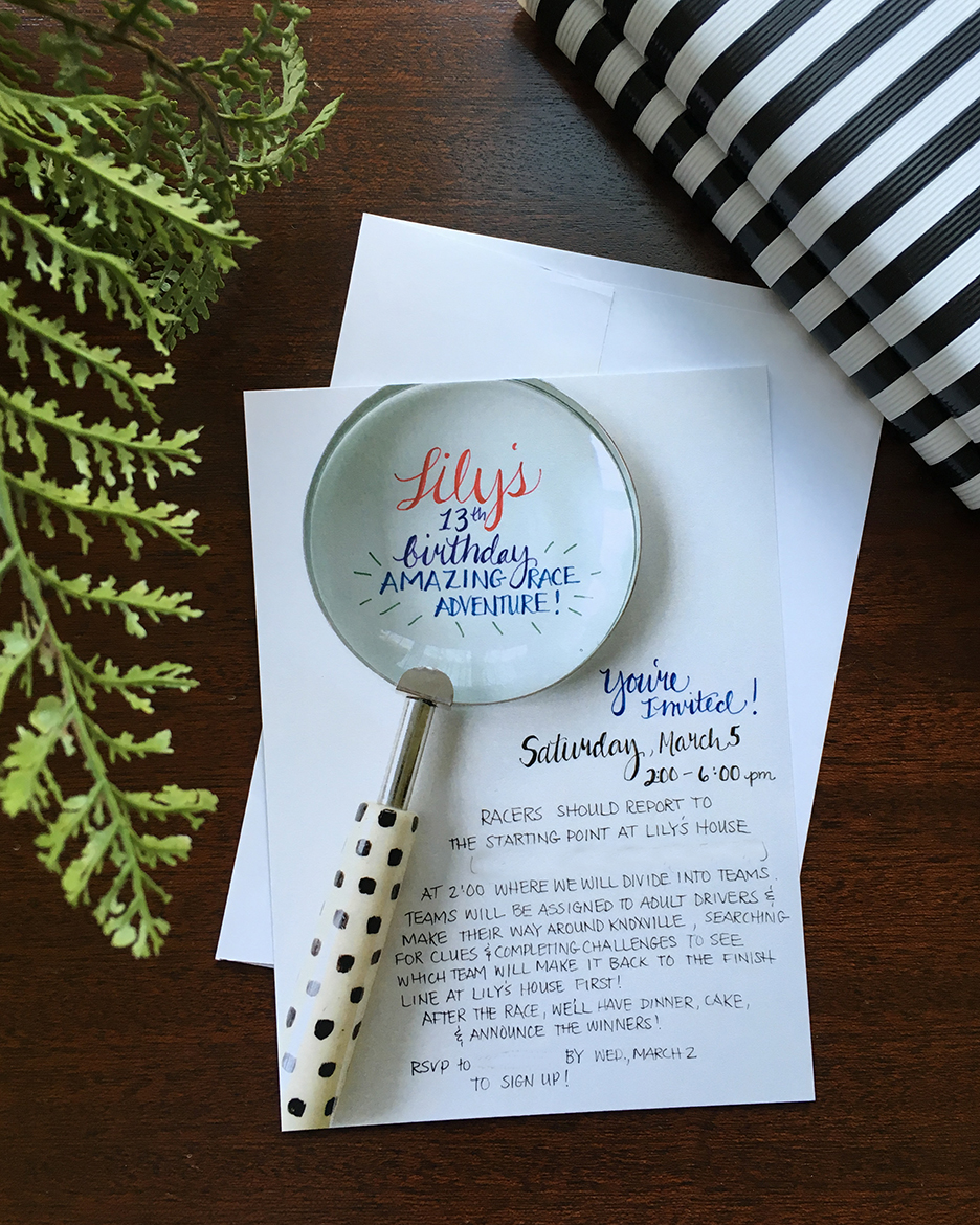 How To Plan An Amazing Race Party And More Free Printables