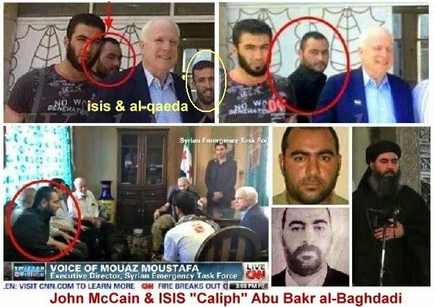 Informasi ISIS: Foto palsu pemimpin ISIS bertemu dengan John Mc Cain